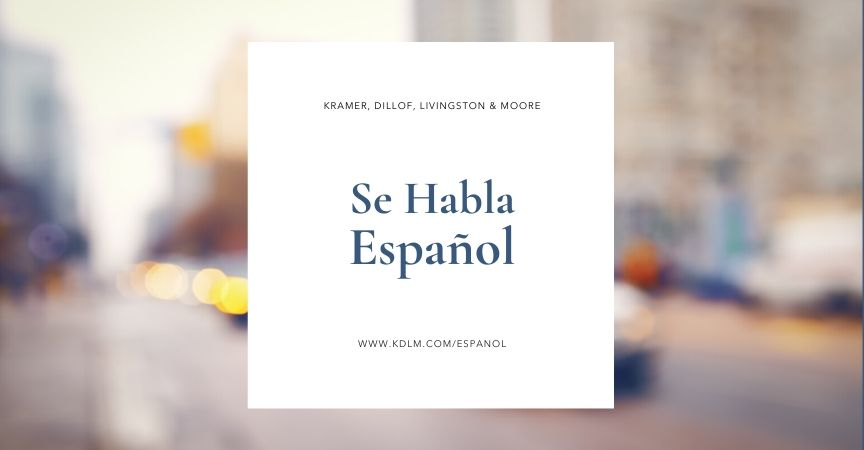 Se Habla Español – New York Personal Injury Lawyers
