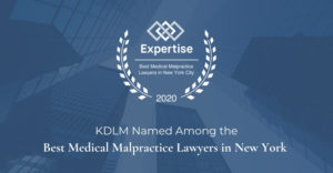 2020 Top Medical Malpractice Lawyers in New York