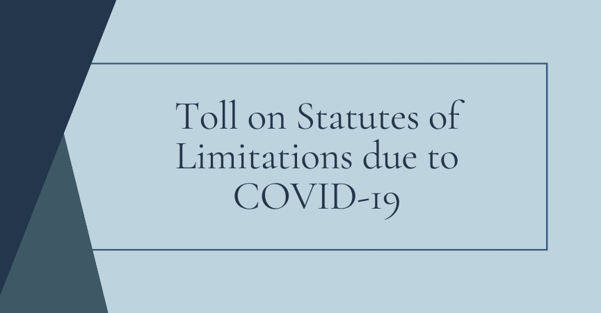 KDLM Partners Review Toll on Statutes of Limitations Due to COVID-19
