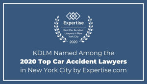KDLM Named Among the 2020 Top Car Accident Lawyers in New York