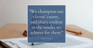 New York personal injury lawyer Thomas Moore quoted