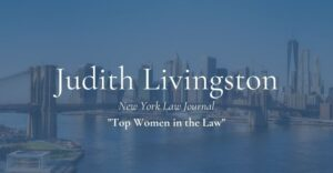 judith livingston top women in law
