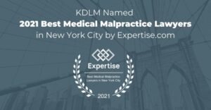 kdlm named 2021 best medical malpractice lawyers in new york city by expertise.com