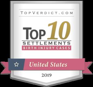 top 10 birth injury settlements us 2019